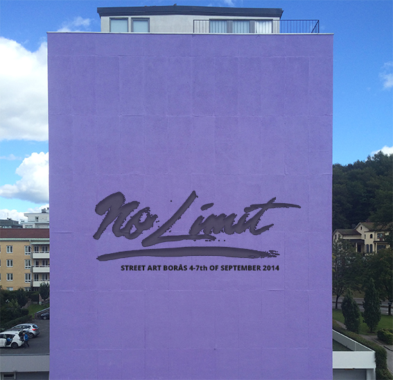 Natalia Rak först ut på No Limit Street Art (pressrelease, in Swedish)