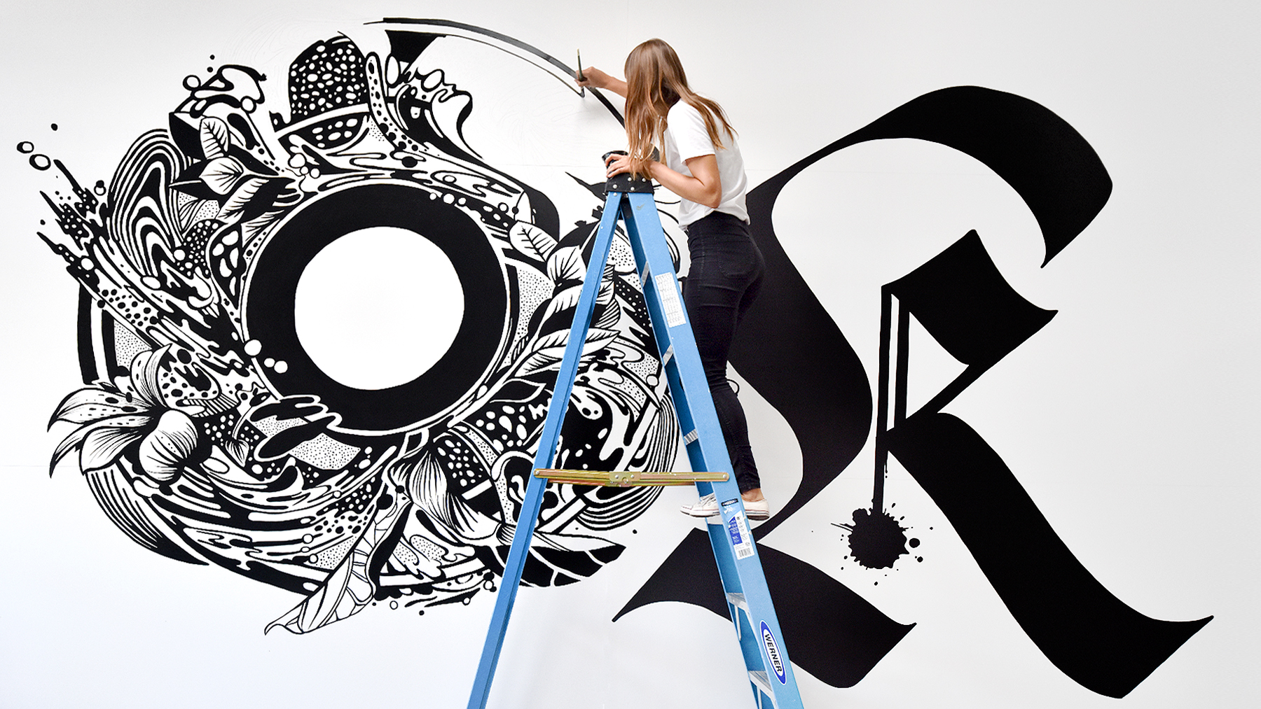 Typography becomes art in the hands of Gemma O´Brien
